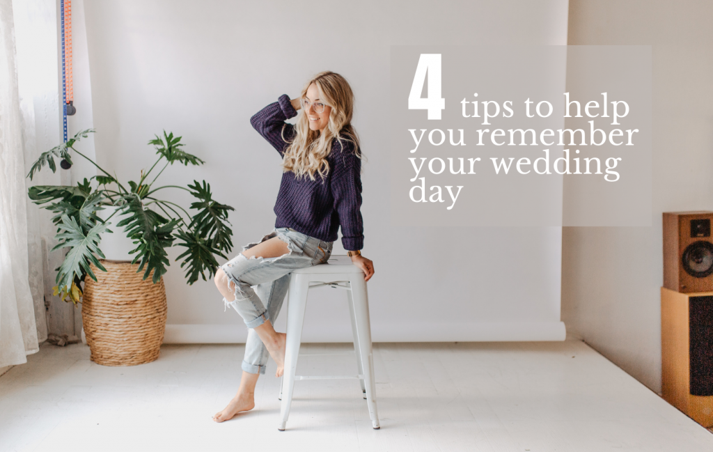 4 tips to help you remember your wedding day by Sonia V Photography