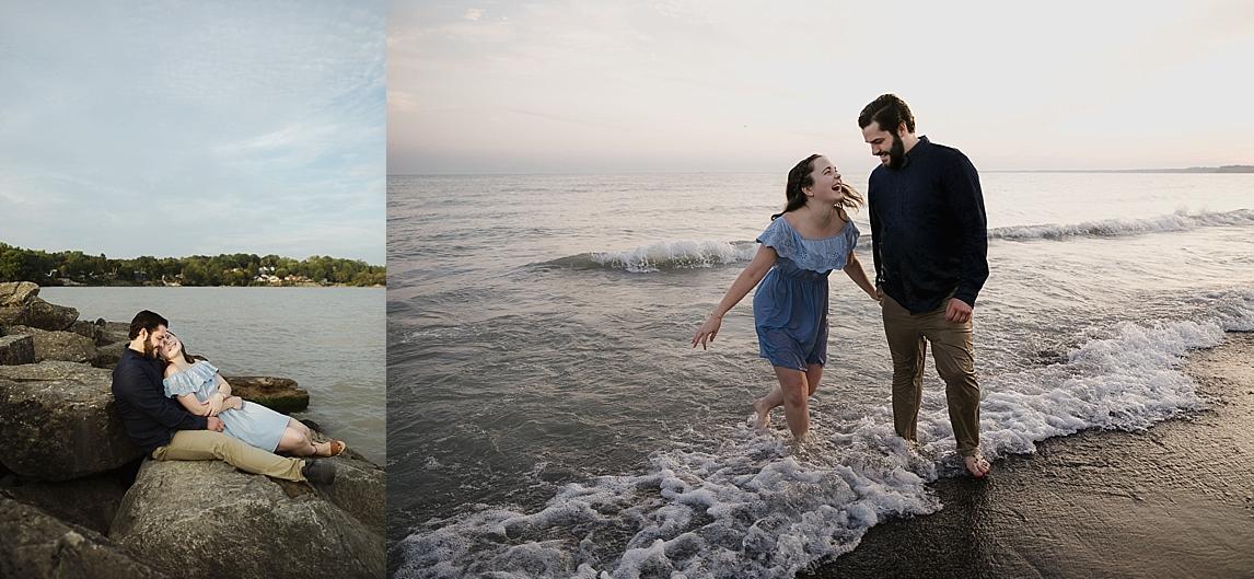 Little Beach Port Stanley - Sonia V Photo - Wedding Engagement Elopement Photographer