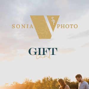 photography gift card couples session Sonia V Photo